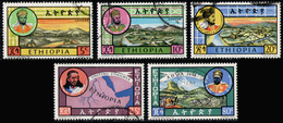 ETHIOPIA 1964 - Short Set Used (missing 60c) - Ethiopië