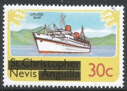 Nevis. 1980 Overprints. 30c MH. SG 42 - St.Kitts And Nevis ( 1983-...)