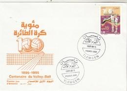 Algérie FDC 1995 Yvert  1090 Volley Ball Sports - Algeria (1962-...)