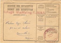 Katanga - KAMINA Réfugié Vluchteling -  Lot De 3 Lettres De Juillet 1960 - Indépendance, événements Du Congo (ex Belge) - Katanga