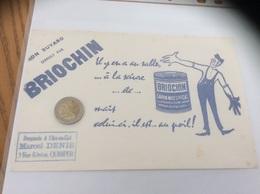 Buvard * «BRIOCHIN - SAVON MOU SPECIAL» - Parfums & Beauté