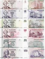 Transnistria 2007 - Set 1+5+10+25+50+100 Rublei - Pick 42-47 UNC - Andere
