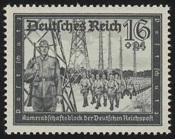 776 Kameradschaftsblock 16+24 Pf ** - Germania