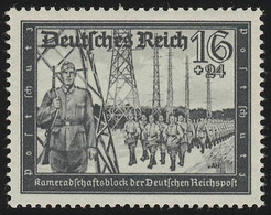 776 Kameradschaftsblock 16+24 Pf ** - Duitsland