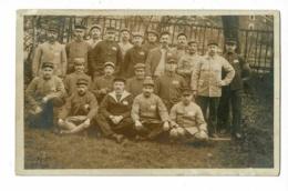 Carte Photo - Camp De Prisonniers à Eiserfeld, 21 Avril 1918 (tous Les Noms Sont Notés Au Verso - Guerra 1914-18