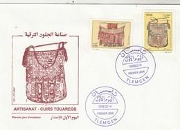 Algérie FDC 1996 Yvert Série 1101 Et 1102 Artisanat - Algeria (1962-...)
