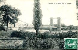 N°73095 -cpa Feurs -le Pont Sur La Loire- - Ponts