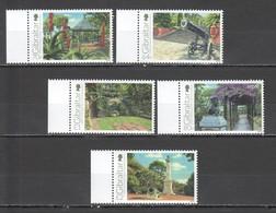 M495 2016 GIBRALTAR 200TH ANNIVERSARY OF THE ALAMEDA GARDENS #1741-5 !!! MICHEL 14 EURO !!! 1SET MNH - Holidays & Tourism