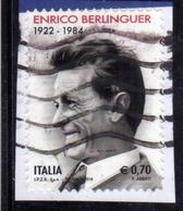 ITALIA REPUBBLICA ITALY REPUBLIC  2014 ENRICO BERLINGUER € 0,70 MNH - 6. 1946-.. Repubblica