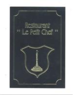 """Carte De Visite -   Restaurant  """" Le Petit Chef """" THEUX (van) - Cartes De Visite"""