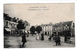 FRANCE / CPA / VILLAINES LA JUHEL / PLACE NEUVE / 1911 - Villaines La Juhel