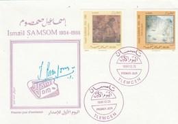 Algérie FDC 1996 Yvert Série 1118 Et 1119 Ismaïl SAMSON Art Tableaux Peinture - Algeria (1962-...)