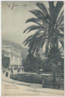 CPA Monaco MONTE CARLO Dos 1900 Timbre 5 Vert Hotel De Londres - Hotels