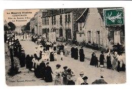 FRANCE / CPA / COUPTRAIN / FETE DE JEANNE D'ARC / PROCESSION / 1910 - Couptrain