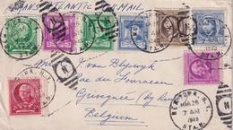 USA 1940 PLI AERIEN ILLUSTRE DE NEW YORK - Lettres & Documents