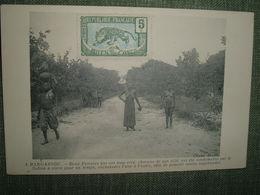 CONGO CENTRAFRIQUE BANGASSOU 2 Femmes Condamnées Par Le Sultan à Vivre Enchaînées L'une à L'autre.. Cliché Bersia 1914 - French Congo - Other
