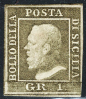 Sicilia 1859 Sass.5 */MH VF/F - Sicilia