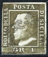 Sicilia 1859 Sass.5 O/Used VF/F - Sicilia