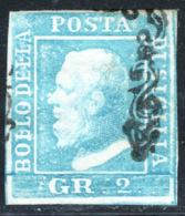 Sicilia 1859 Sass.6 O/Used VF/F - Sicilia