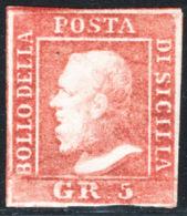 Sicilia 1859 Sass.10 */MH VF/F - Sicilia