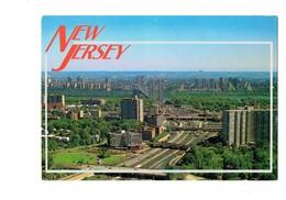 Cpa - New Jersey > George Waxhington Bridge - Pont Route Autoroute Voitures - Etats-Unis
