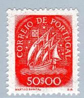 PORTUGAL - N° 644 * (1943) Caravelle : 50 Escudos - 1910-... Republic