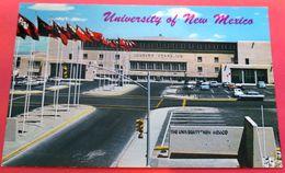 Johnson Gymnasium University New Mexico VW Coccinelle Kaefer Rambler American 1961 Chevrolet Parking Lot Cars - Albuquerque