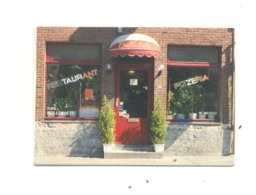 "Carte De Visite - Restaurant   "" Bella Italia  ""  MARCHE - EN - FAMENNE  (van) - Cartes De Visite"