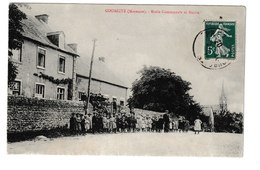 FRANCE / CPA / COURCITE / ECOLE COMMUNALE ET MAIRIE / 1916 - France