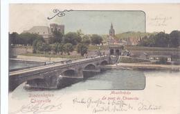 AK-31043 -   Diedenhofen -  Thionville - Moselbrücke , Die Thionvillbrücke - Thionville