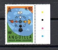 ANGUILLA - DIALOGUE- DIALOG - DIALOGO CIVILIZATIONS 2001 - Anguilla (1968-...)