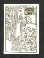 ALLEMAGNE - DDR - Carte Maximum 1957 - FREIBURG - 500 JAHRE UNIVERSITAT FREIBURG - [6] Repubblica Democratica