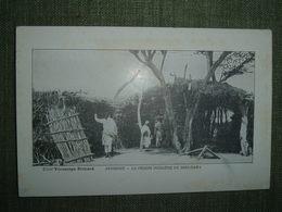 ABYSSINIE PRISON INDIGENE DIRE DAWA. Cliché Vérascope Richard Chocolat Planteur, ETHIOPIE AFRIQUE Condamné Justice Peine - Ethiopie