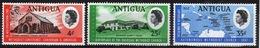 Antigua 1967 Set Of Stamps To Celebrate Attainment Of Autonomy By The Methodist Church. - Antigua & Barbuda (...-1981)