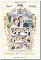Guyana 2002, Postfris MNH, Roral Wedding Prince Willem Alexander And Maxima - Guyana (1966-...)