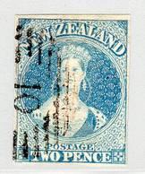 NOUVELLE ZELANDE - N° 9 Obl  (1858/59)  Victoria - Used Stamps
