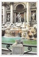Italie Rome Fontaine De Trevi (2 Scans) - Fontana Di Trevi