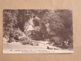 VERSAILLES Jardins Les Bains D'Apollon Animée Département 78 Yvelines France Carte Postale Postcard - Versailles (Kasteel)