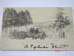 C.P.A.- Carte Photo.- Belgique - Liège - Automobile La 8 Cylindres Abaval - 1922 - SUP (BM 37) - Belgique