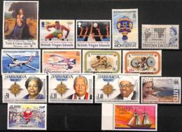 D - [829113]TB//**/Mnh-colonies Britanniques  - Tb Lot **/mnh - Stamps