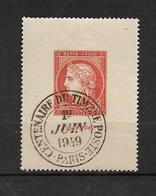 France Timbre De 1949 N°841 Oblitéré Cote 54€ - France