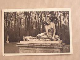 VERSAILLES Nymphe à La Coquille Statue Parc Département 78 Yvelines France Carte Postale Postcard - Versailles (Kasteel)