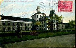 CPA - Jackson : La Prison - Etats-Unis