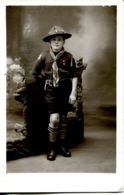 N°73105 -carte Photo :  Un Scout En 1937 - Scouting