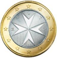 Malta  2019     1 Euro     NIEUW !!!     Met Muntmeesterteken Monnaie De Paris Letter F  !!! - Malta