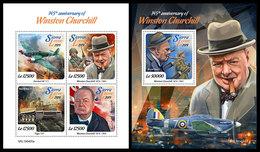 SIERRA LEONE 2019 - Winston Churchill. M/S + S/S Official Issue. - Sierra Leone (1961-...)