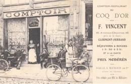 Clermont-Ferrant -Comptoir-Restaurant COQ-D'OR  - (lot Pat72) - Clermont Ferrand