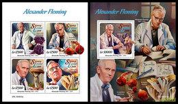 SIERRA LEONE 2019 - Alexander Fleming. M/S + S/S Official Issue. - Sierra Leone (1961-...)