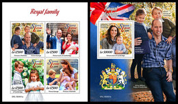 SIERRA LEONE 2019 - Royal Family. M/S + S/S Official Issue. - Sierra Leone (1961-...)