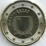 Malta  2019   20 Cent   Uit De BU - Coffret  NIEUW !!! Met Muntmeesterteken Monnaie De Paris Letter F  !!! - Malta